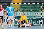 Team Buschis Jo Deckarm (Nr.12) aergert sich ueber das Tor beim Tag des Handballs - Team Frank Buschmann vs. Team Stefan Kretzschmar.<br /> <br /> Foto &copy; P-I-X.org *** Foto ist honorarpflichtig! *** Auf Anfrage in hoeherer Qualitaet/Aufloesung. Belegexemplar erbeten. Veroeffentlichung ausschliesslich fuer journalistisch-publizistische Zwecke. For editorial use only.