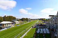 The racecourse prior to the meeting starting during Afternoon Racing at Salisbury Racecourse on 3rd October 2018