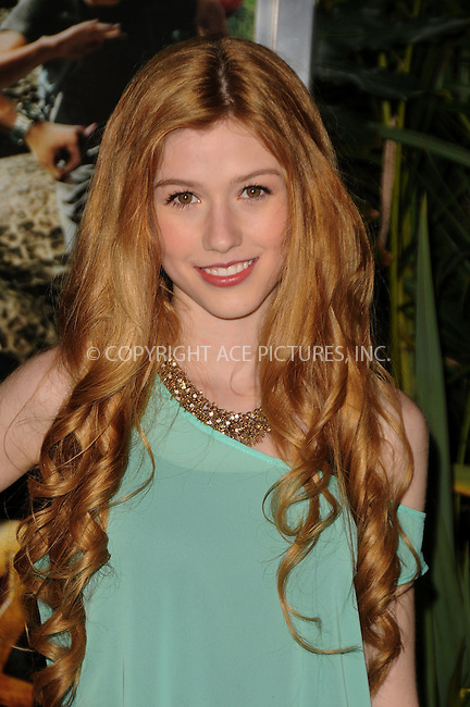 WWW.ACEPIXS.COM . . . . .....February 2 2012, LA....Katherine McNamara arriving at the 'Journey 2: The Mysterious Island'  premiere at Grauman's Chinese Theatre on February 2, 2012 in Hollywood, California.  ....Please byline: PETER WEST - ACE PICTURES.... *** ***..Ace Pictures, Inc:  ..Philip Vaughan (212) 243-8787 or (646) 769 0430..e-mail: info@acepixs.com..web: http://www.acepixs.com