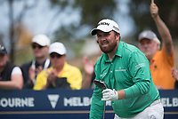 Shane Lowry (IRL) during the final round of the World Cup of golf,  The Metropolitan Golf Club, The Metropolitan Golf Club, Victoria, Australia. 25/11/2018<br /> Picture: Golffile | Anthony Powter<br /> <br /> <br /> All photo usage must carry mandatory copyright credit (&copy; Golffile | Anthony Powter)