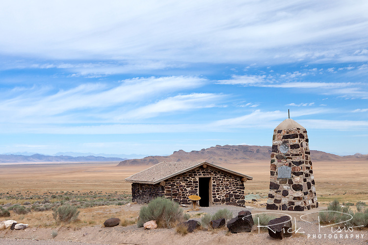 Simpson Springs Pony Express Station in Utah's Great Salt Lake Desert.