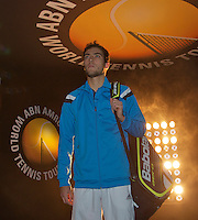 11-02-14, Netherlands,Rotterdam,Ahoy, ABNAMROWTT,Jerzy Janowicz(POL)<br /> Photo:Tennisimages/Henk Koster