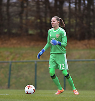 20171123 - TUBIZE , BELGIUM : Russian Alena Beliaeva pictured during a friendly game between the women teams of the Belgian Red Flames and Russia at complex Euro 2000 in Tubize , Thursday  23 October 2017 ,  PHOTO Dirk Vuylsteke | Sportpix.Be