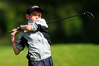 John William Burke (Ballyhaunis) on the 1st tee during the Connacht U12, U14, U16, U18 Close Finals 2019 in Mountbellew Golf Club, Mountbellew, Co. Galway on Monday 12th August 2019.<br /> <br /> Picture:  Thos Caffrey / www.golffile.ie<br /> <br /> All photos usage must carry mandatory copyright credit (© Golffile | Thos Caffrey)