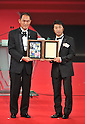 (L to R) Daisuke Naito, DECEMBER 5, 2011 - Football : 2011 J.League Awards at Yokohama Arena, Kanagawa, Japan. (Photo by Atsushi Tomura/AFLO SPORT) [1035]