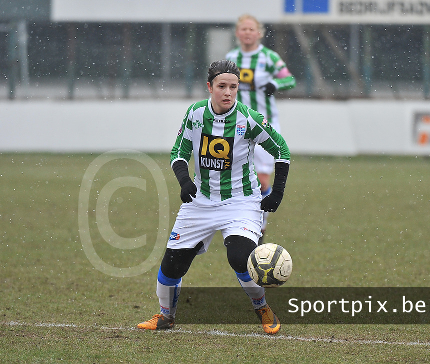 Club Brugge Dames - PEC Zwolle : Maria Laura Aga Martinez.foto DAVID CATRY / Vrouwenteam.be