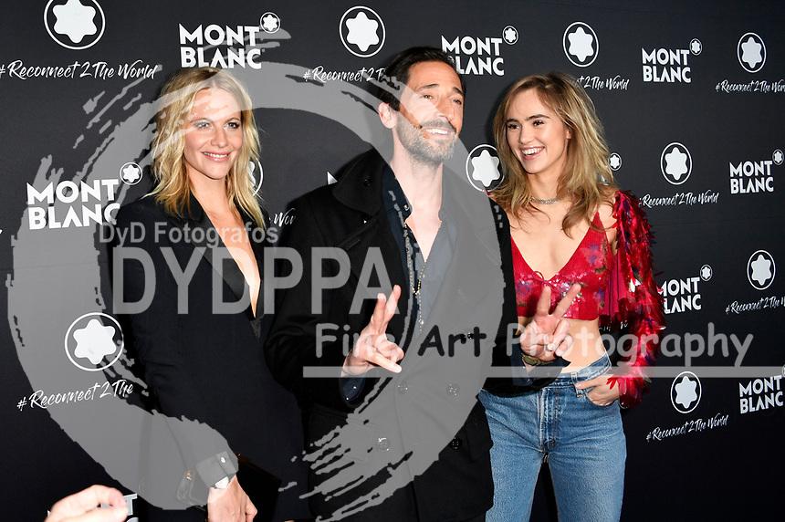 Poppy Delevingne, Adrien Brody und Suki Waterhouse beim Montblanc Travel & the Arts Events vor dem Gallery Weekend im Metropoltheater. Berlin, 24.04.2019