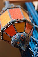 Afrique/Afrique du Nord/Maroc/Rabat: Hotel - Maison d'Hote Villa Mandarine détail d'une lanterne
