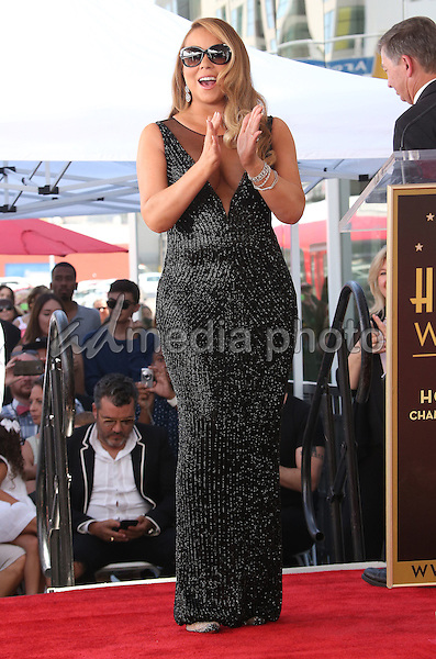 06 August 2015 - Hollywood, California - Mariah Carey. Mariah Carey Honored With Star On The Hollywood Walk Of Fame held at the Beverly Wilshire Four Seasons Hotel. Photo Credit: F. Sadou/AdMedia