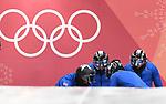 21/02/2018 - 4-man bobsleigh training - Olympic sliding centre - Alpensia - Pyeongchang - Korea