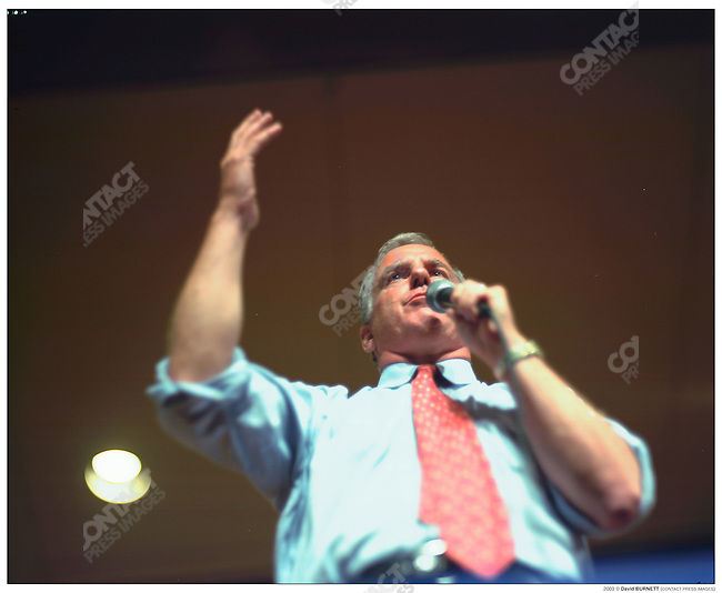 Howard Dean led a 9 stop, 4 day tour across the country to promote his candidacy for President, in the 2004 elections. Dean toured Falls Church, VA; Milwaukee WI; Portland WA, Seattle and Spokane WA; Austin and San Antonio TX;  Chicago IL; and New York City.  He traveled with senior staff including Campaign manager Joe Trippi, and spoke to rallies that numbered from the hundreds, up to ten thousand. August 23-26, 2003