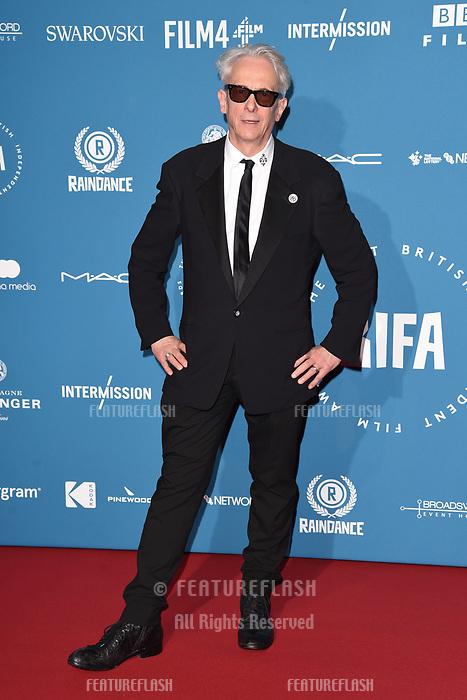 LONDON, UK. December 02, 2018: Elliott Grove at the British Independent Film Awards 2018 at Old Billingsgate, London.<br /> Picture: Steve Vas/Featureflash