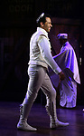 "Corbin Bleu during the Broadway Opening Night Curtain Call for ""Kiss Me, Kate""  at Studio 54 on March 14, 2019 in New York City."