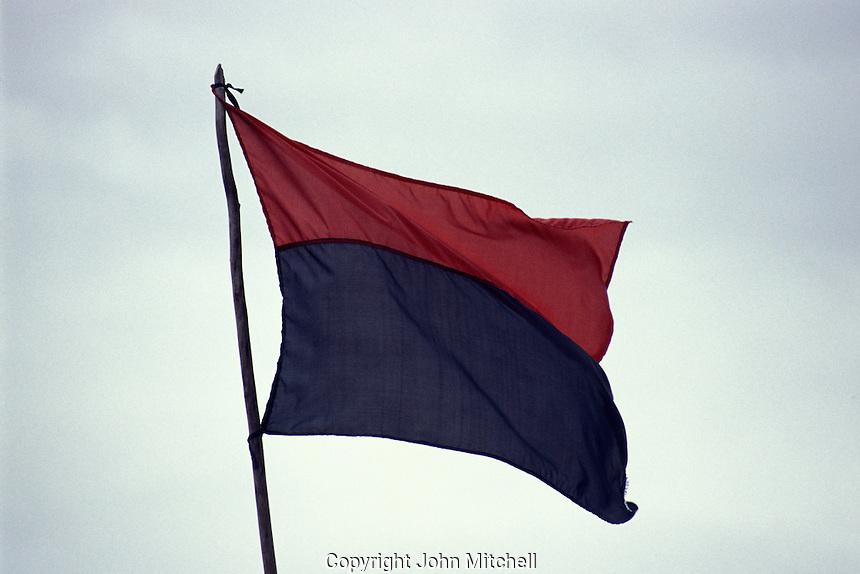 Sandinista (FSLN) flag, Nicaragua