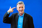 Ex-Python, Michael Palin at the Edinburgh International Book Festival 2012, Charlotte Square Gardens.<br />
