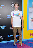 """01 August 2016 - Hollywood, California. Jacob Hopkins. World premiere of """"Nine Lives"""" held at the TCL Chinese Theatre. Photo Credit: Birdie Thompson/AdMedia"""