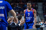 Anadolu Efes Errick McCollum during Turkish Airlines Euroleague match between Real Madrid and Anadolu Efes at Wizink Center in Madrid, Spain. January 25, 2018. (ALTERPHOTOS/Borja B.Hojas)