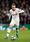 Tottenham's Christian Eriksen during the UEFA Champions League match at the Tottenham Hotspur Stadium, London. Picture date: 26th November 2019. Picture credit should read: David Klein/Sportimage