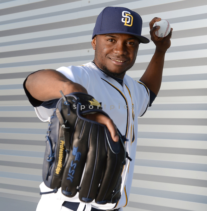 San Diego Padres Frank Garces (60) during photo day on February 26, 2016 in Peoria, AZ.