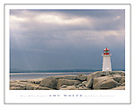 Poster by Bruce McGaw Graphics<br /> Lighthouse, Nova Scotia <br /> Paper: 22 x 28 in. (55 x 70 cm.) <br /> Image: 18 x 25.75 in. (45 x 64.38 cm.) <br /> Perfect for mounting or framing. Watermark does not appear on product.