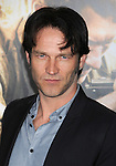 "LOS ANGELES, CA. - February 24: Stephen Moyer arrives to HBO's premiere of ""The Pacific"" at Grauman's Chinese Theatre on February 24, 2010 in Los Angeles, California."