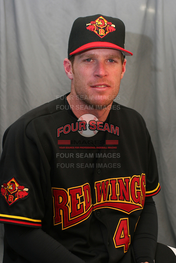 Rochester Red Wings Pete Munro during media day at Frontier Field on April 5, 2006 in Rochester, New York.  (Mike Janes/Four Seam Images)