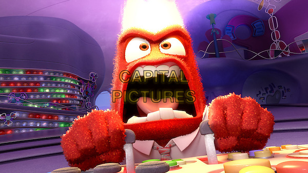 Anger (voice of Lewis Black)<br /> in Inside Out (2015) <br /> *Filmstill - Editorial Use Only*<br /> CAP/FB<br /> Image supplied by Capital Pictures
