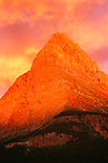Grinnell Point at sunset, Glacier National Park, Montana