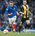 Dean Shiels and Lee Currie