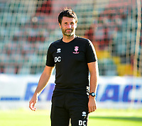 Lincoln City manager Danny Cowley<br /> <br /> Photographer Andrew Vaughan/CameraSport<br /> <br /> Football Pre-Season Friendly - Lincoln City v Norwich City - Tuesday 10th July 2018 - Sincil Bank - Lincoln<br /> <br /> World Copyright &copy; 2018 CameraSport. All rights reserved. 43 Linden Ave. Countesthorpe. Leicester. England. LE8 5PG - Tel: +44 (0) 116 277 4147 - admin@camerasport.com - www.camerasport.com