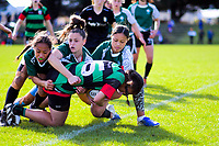 Rugby sevens - girls' final. Day six of the 2019 AIMS games at Blake Park in Mount Maunganui, New Zealand on Friday, 13 September 2019. Photo: Dave Lintott / lintottphoto.co.nz