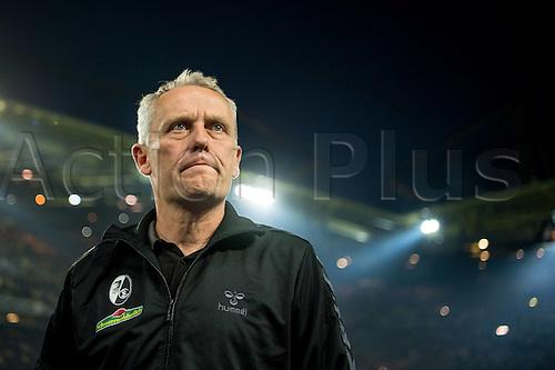 23.09.2016. Dortmund, Germany. German Bundesliga Football. Borussia Dortmund versus SC Freibrug.  Trainer Christian Streich (SC Freiburg)