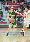 Pinewood Girls CCS Basketball Championships vs Mitty at Santa Clara University.  March 4, 2016