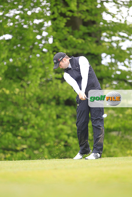 R. Symington (Lisburn) on the 5th Tee during the Mullingar Scratch Trophy Day 1at Mullingar Golf Club Belvedere 18th May 2013.Picture: Thos Caffrey www.golffile.ie...