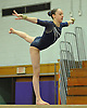 Miranda Lund of Plainview JFK performs on the balance beam during a Nassau County varsity gymnastics meet against Massapequa at McKenna Elementary School on Monday, Feb. 1, 2016. She scored an 8.85 in the event and posted an all-around high of 36.6 to lead Plainview JFK to a 164.7-163.6 win.