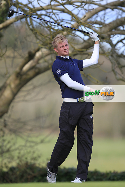 Stephen Walsh (Portmarnock).during the Headfort Scratch Cup, Headfort Golf Club, Kells, Co Meath. 21/4/13.Picture: Picture Fran Caffrey www.golffile.ie.