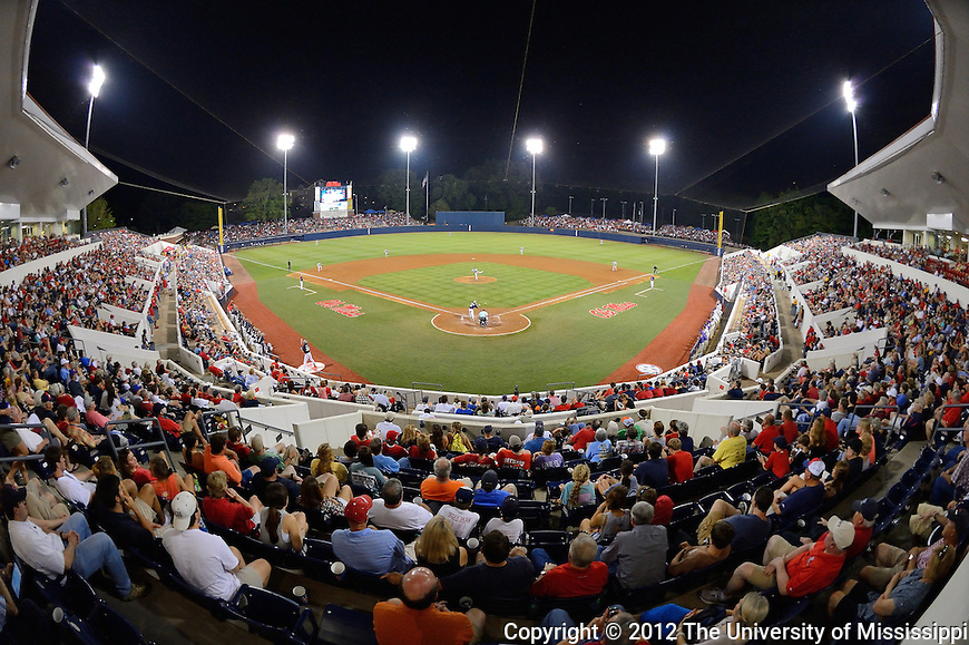 The Ole Miss Rebels take on the LSU Tigers in game 1 of the series on Friday. (Photo by Robert Jordan/UM Communications)