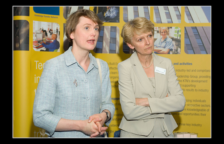 Yvette Cooper MP (L) & Liz Peace (R) - BPF Conference 2007 - QEII Conference Centre, London - 22nd May 2007