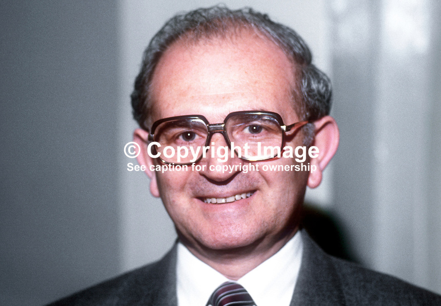 Moshe Raviv, No 2, Israeli Embassy, London, UK, attendee, annual conference, Scottish Conservative Party, May 1986, 19860503MR<br /> <br /> Copyright Image from Victor Patterson, 54 Dorchester Park, <br /> Belfast, UK, BT9 6RJ<br /> <br /> t1: +44 28 9066 1296 (from Rep of Ireland 048 9066 1296)<br /> t2: +44 28 9002 2446 (from Rep of Ireland 048 9002 2446)<br /> m: +44 7802 353836<br /> <br /> e1: victorpatterson@me.com<br /> e2: victorpatterson@gmail.com<br /> <br /> www.victorpatterson.com<br /> <br /> Please see my Terms and Conditions of Use at VICTORPATTERSON.COM. It is IMPORTANT that you familiarise yourself with them.<br /> <br /> Images used on the Internet must be visibly watermarked i.e. &copy;VICTORPATTERSON.COM within the body of the image and copyright metadata must not be deleted. Images used on the Internet have a size restriction of 4kbs and are chargeable at the then current NUJ rates.<br /> <br /> This image is only available for the use of the download recipient i.e. television station, newspaper, magazine, book publisher, etc, and must not be passed on to any third party. It is also downloaded on condition that each and every usage is notified within 7 days to victorpatterson@me.com<br /> <br /> The right of Victor Patterson to be identified as the author is asserted in accordance with The Copyright Designs And Patents Act (1988).