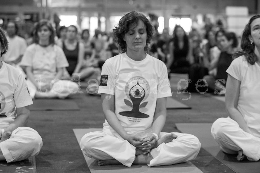 2ND INTERNATIONAL DAY OF YOGA IN MADRID: JUNE 25 IN IFEMA