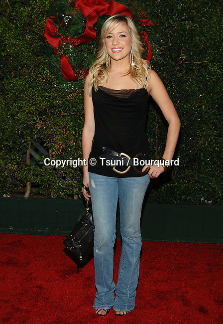 Kristin Cavalleri arriving at the JUST FRIENDS Premiere at the Westwood Village Theatre in Los Angeles. November 14, 2005.