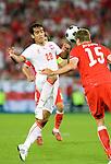 Roger Guerreiro and Sebastian Prödl at Euro 2008 Austria-Poland 06122008, Wien, Austria