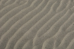 Texture in sand due to wind and water