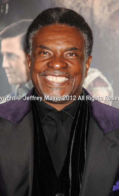 HOLLYWOOD, CA - OCTOBER 24: Keith David  arrives at the Los Angeles premiere of 'Cloud Atlas' at Grauman's Chinese Theatre on October 24, 2012 in Hollywood, California.