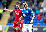 St Johnstone v Aberdeen&hellip;15.09.18&hellip;   McDiarmid Park     SPFL<br />Danny Swanson on his return to saints<br />Picture by Graeme Hart. <br />Copyright Perthshire Picture Agency<br />Tel: 01738 623350  Mobile: 07990 594431