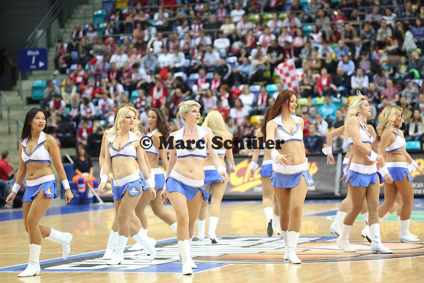 Fraport Skliners Dance Team - Fraport Skyliners vs. s.Oliver Baskets Würzburg, Fraport Arena Frankfurt
