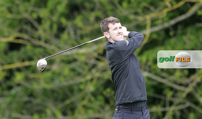 Michael Fox Jnr during Wednesday's Pro-Am ahead of the 2016 Dubai Duty Free Irish Open Hosted by The Rory Foundation which is played at the K Club Golf Resort, Straffan, Co. Kildare, Ireland. 18/05/2016. Picture Golffile | TJ Caffrey.<br /> <br /> All photo usage must display a mandatory copyright credit as: &copy; Golffile | David Lloyd.