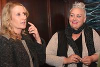 NWA Democrat-Gazette/FLIP PUTTHOFF<br />Brenda Swango, owner of River Grille (left) and Sharae Allen chat March 7 2018 at the Bentonville restaurant.