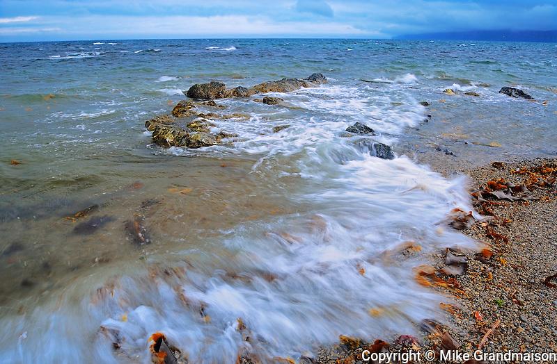 Waves on Atlantic Ocean <br /> Forillon National Park<br /> Quebec<br /> Canada
