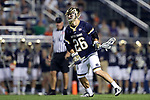 DURHAM, NC - APRIL 28: Notre Dame's Bryan Costabile. The Duke University Blue Devils played the University of Notre Dame Fighting Irish on April 28, 2017, at Koskinen Stadium in Durham, NC in a 2017 ACC Men's Lacrosse Tournament Semifinal match. Notre Dame won the game 7-6.